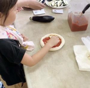 ピザ焼き体験2019